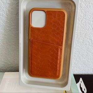 Heyday iPhone 11 Pro case with pocket